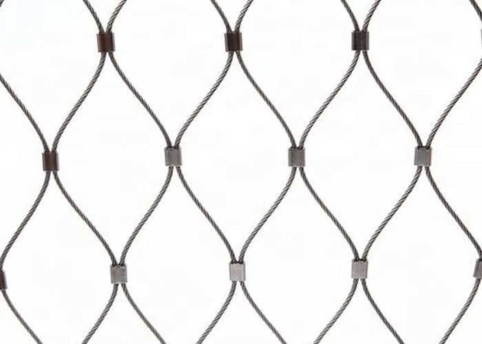 Stainless Steel Wire Rope Green Wall Mesh 304 304L 316 316L